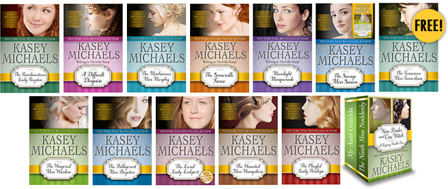 """Alphabet"" Regency Series Romance Titles"